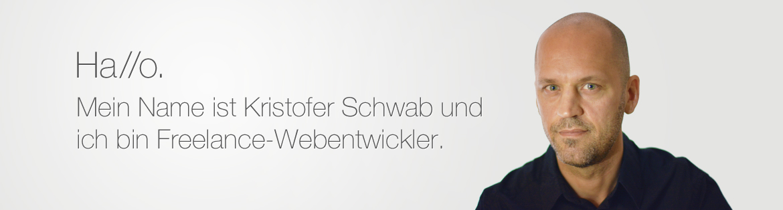 Kristofer Schwab - Freelance-Webentwickler