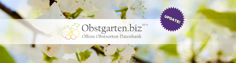 Aktualisiert! Obstgarten.biz